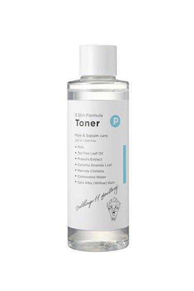 P Skin Formula Toner - Gözenek & Sebum Arındırıcı Tonik
