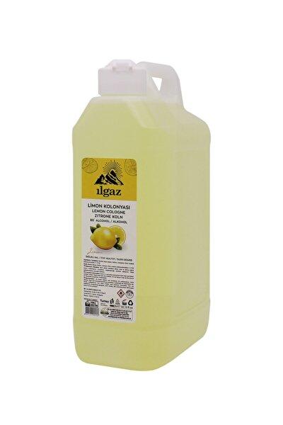 Klasik Limon Kolonyası 1000 ml 80 Derece Huni Kapaklı Bidon Limon Kolonya