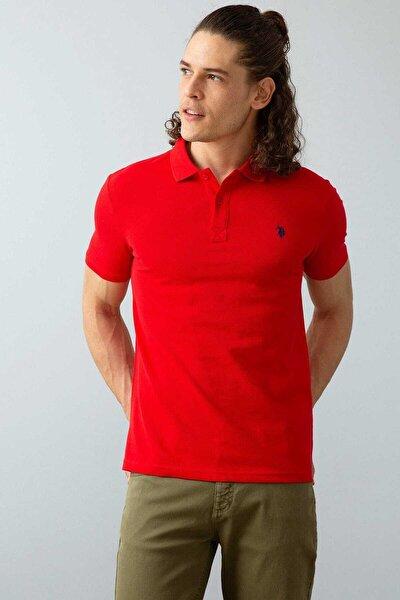 Erkek Kırmızı Polo Yaka T-shirt G081gl011.000.739379