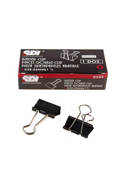 Double Metal Klips 25 mm 12li 1 Paket 12 Adet Sdi 0225