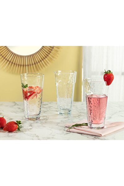 Floressa 4'lü Meşrubat Bardağı Seti 475 ml