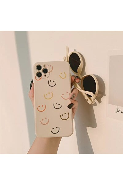 Iphone 11 Smile Desenli Baskılı Lansman Koruyucu Kapak Kılıf
