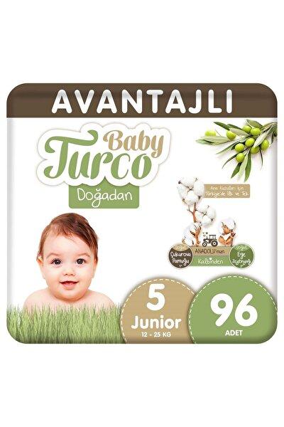 Doğadan Avantajlı Bebek Bezi 5 Numara Junior 96 Adet