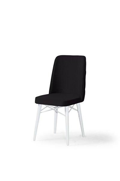 Angola Sandalye Beyaz Ağaç Ayak