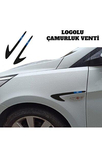 Ford Focus 3 Çamurluk Venti Parlak Siyah (logolu)