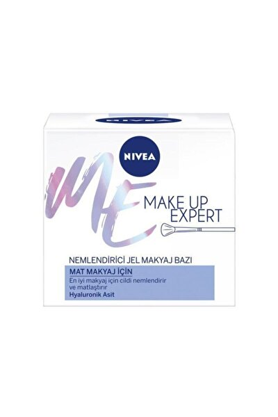 Nıvea Make Up Expert Mat Makyaj Için Nemlendirici Jel Makyaj Bazı 50 ml