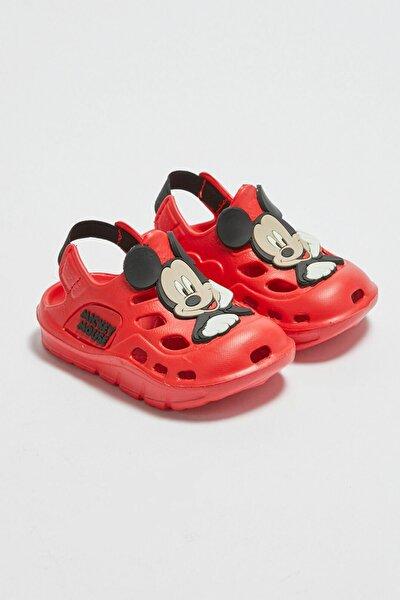 Erkek Bebek Kırmızı Crt Sandalet