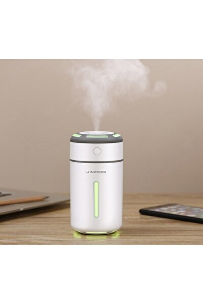 Işıklı Su Hazneli Hava Nemlendirici Buhar Makinesi Aroma Nemlendirici