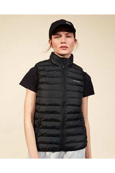 Outerwear W Basic Lightweight Vest Kadın Siyah Yelek S202109-001