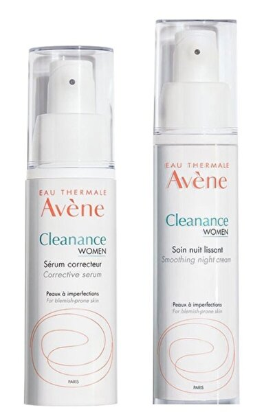 Cleanance Women Düzenleyici Serum 30 ml +Cleanance Woman Gece Bakım Kremi 30 ml
