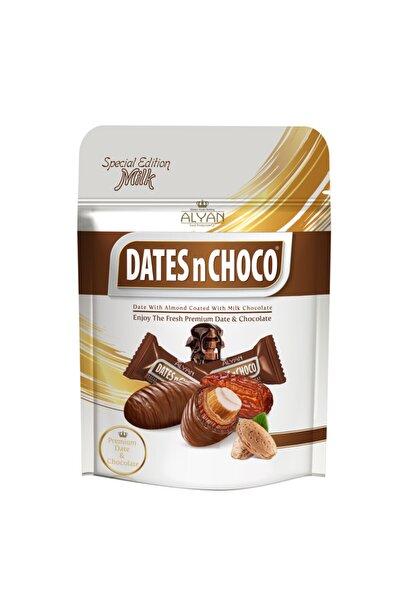 Sütlü Çikolata Kaplı Bademli Hurma 90 gr