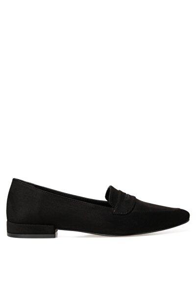 NELA2 Siyah Kadın Loafer Ayakkabı 101025957