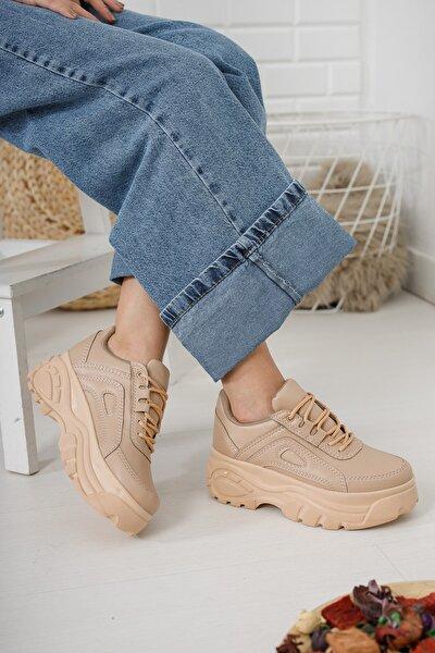 Kadın Somon Sneaker Md1055-101-0002