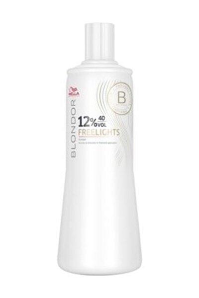 Blondor Freelights %12 Oksidan 40 Volum 1000ml