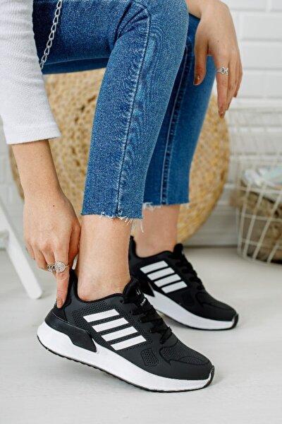 Kadın Siyah Spor Ayakkabı 6005