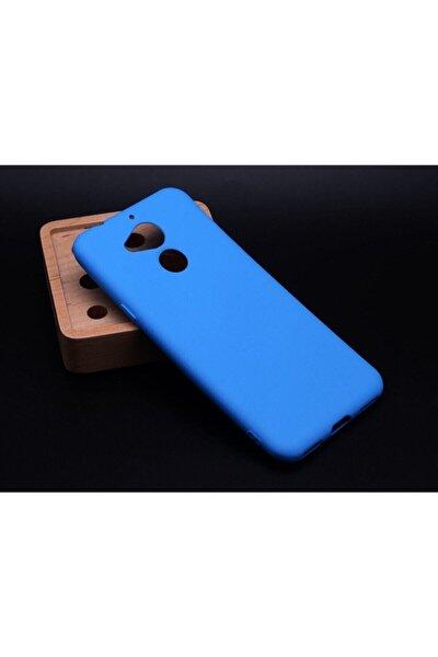 General Mobile Gm 8 Yumuşak Silikon Kılıf Mavi