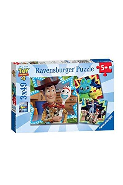 3x49 Parça Puzzle Wd Toy Story4 80670