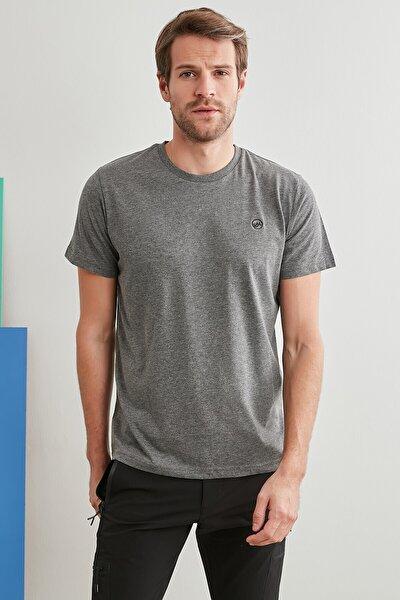 Erkek Gri Alavaro T Shirt