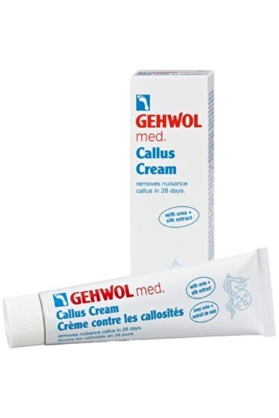 Med Callus Cream - Kalınlaşmış Deri Giderici Krem 75 Ml