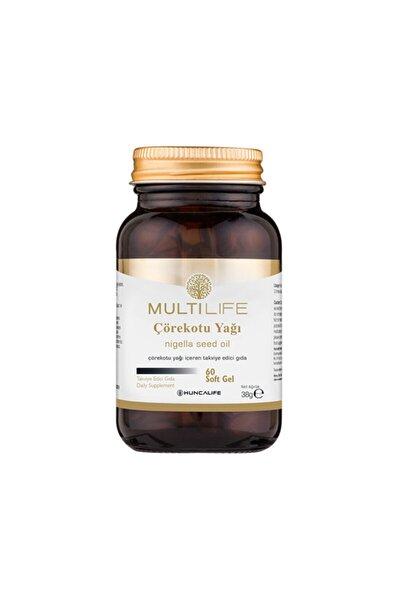 Multilife Çörekotu Yağı Içeren Takviye Edici Gıda 60 Soft Gel