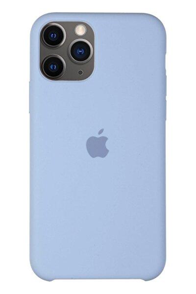Iphone 11 Pro Max Silikon Kılıf Lila Uyumlu