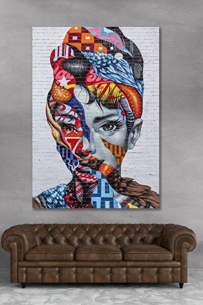 70x100 Dekoratif Renkli Kanvas Duvar Tablo