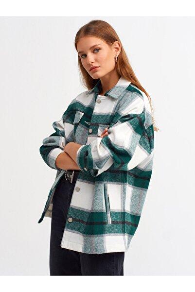 Kadın Yeşil Oduncu Gömlek 103a05688
