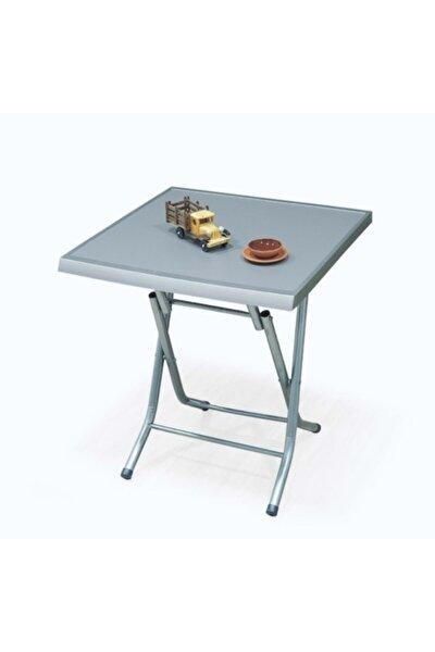 Metal Ayaklı Katlanır Plastik Masa Griy