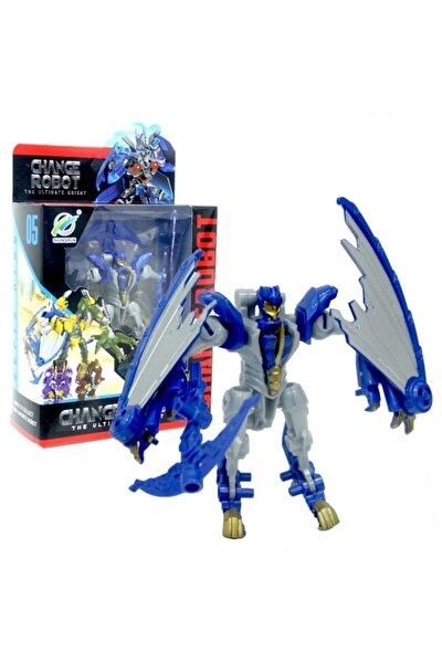 Es3960 Transformers Stil Dönüşebilen Robot Dinozor Oyuncak Ultimate Knight Pterosaurs