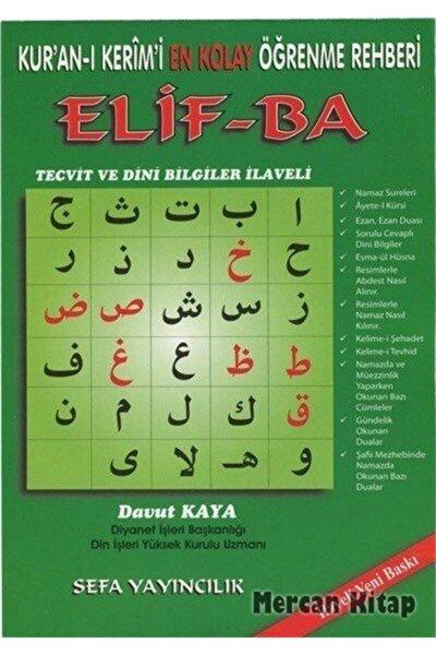 Kur'an-ı Kerimî En Kolay Öğrenme Rehberi Elif-ba