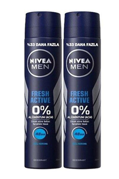 Men Fresh Active Sprey Deodorant 200 Ml X 2 Adet 40011100241021