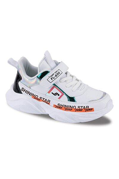 Kız Çocuk Beyaz 25791a Günlük Spor Ayakkabı