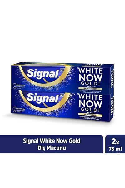 White Now Gold Anında Beyazlık Sağlayan Diş Macunu 75 ml X2