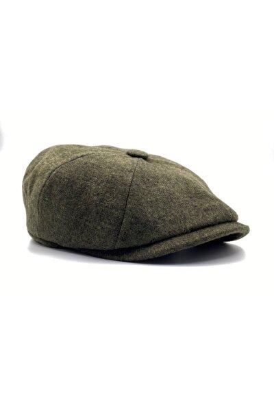 Erkek Haki Kasket Şapka