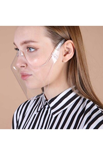 Şeffaf Transparan Yikanabilir Maske