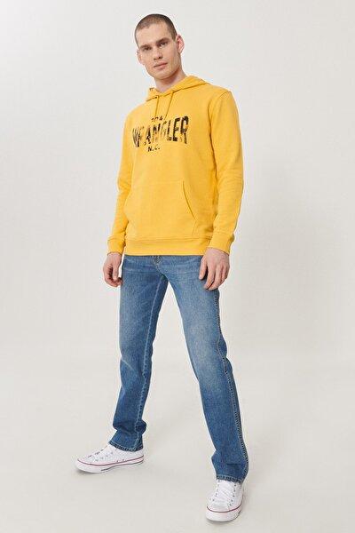 Arizona Erkek Koyu Mavi Straight Fit Normal Bel Düz Paça Esnek Jean Pantolon