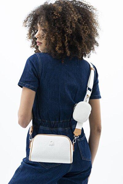 Kadın Beyaz Çapraz Çanta  Bnt482