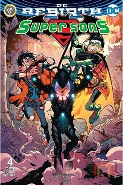 Dc Rebirth-super Sons Sayı 4