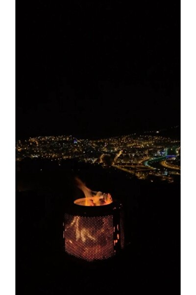 Bahçe Şöminesi Ateş Çukuru Ateş Kovası Isıya Dayanıklı Boya