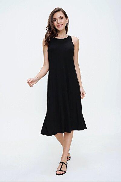Kadın Fitilli Cepli Askılı Elbise S-20Y0080003