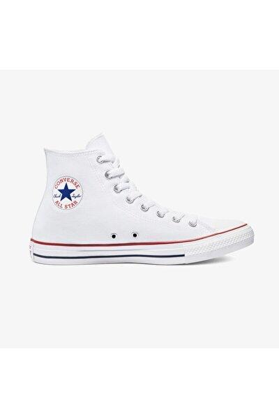 Unisex Beyaz Chuck Taylor All Star Hi Sneaker