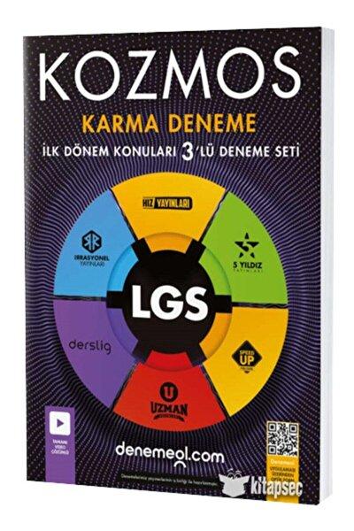 8. Sınıf Lgs 1. Dönem Kozmos Karma 3 Lü Deneme