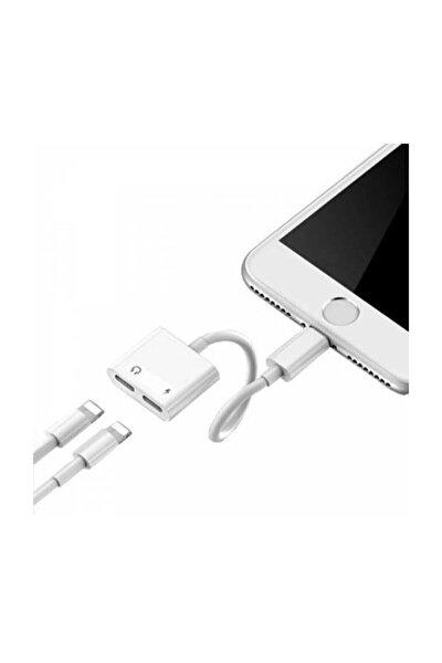 Iphone 7,8 X ,10 Uyumlu Lightning , Kulaklık Ve Şarj Çevirici Dönüştürücü