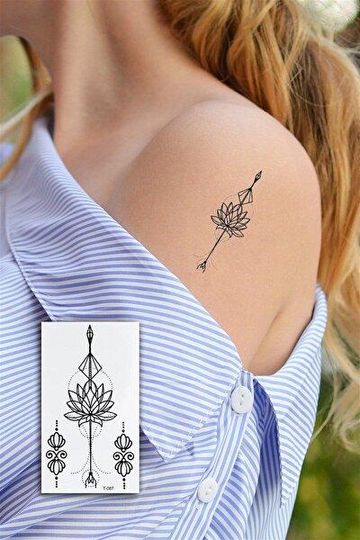 Geçici Çiçek Mini Dövme Tattoo