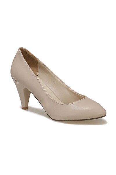 91.309022.Z 1FX Bej Kadın Topuklu Ayakkabı 101012837