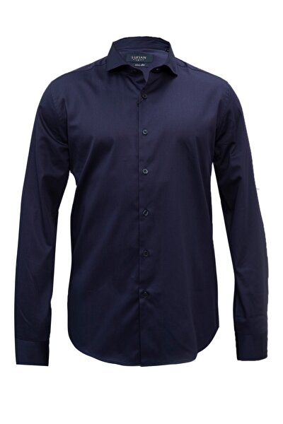 Eetu Smart Gömlek Slim Fit Lacivert