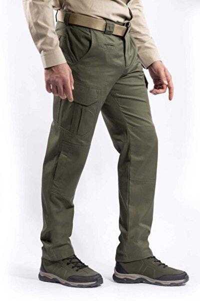 Erkek Haki Renk  Tasarım  Dört Mevsim Tactikal Pantolon