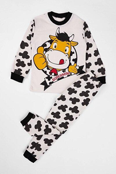 Unisex Çocuk Pijama Takımı