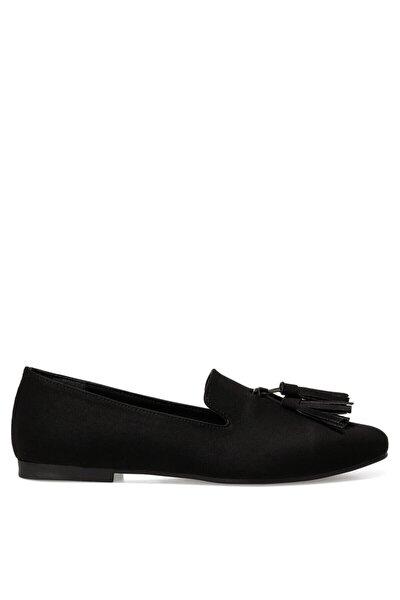 MILA Siyah Kadın Loafer Ayakkabı 101025950