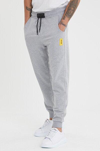 Erkek gri günlük eşofman altı jeans fashion